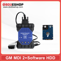 WIFI GM MDI 2 Multiple Diagnostic Interface with V2020.9 GDS2 Tech2Win Software Sata HDD for Vauxhall Opel Buick and Chevrolet