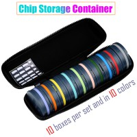2M2 Transpoder Box Chip Storage Container 10pcs/lot 10 boxes per set and in 10 colors