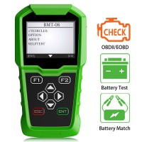 [Ship From US] OBDSTAR BMT-08 12V/24V Automotive Battery Tester and Battery Matching Tool OBD2 Battery Configuration