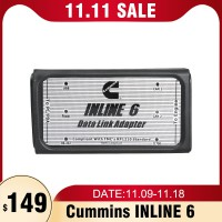Cummins INLINE 6 Data Link Adapter Insite V7.06 Diagnostic Tool for Cummins Diesel Engine With Multi-language
