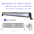 "33"" 180W 60 Degree FLOOD Light CREE LED ALLOY WORK LIGHT BAR 4WD BOAT UTE DRIVING SAVE"