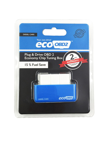 Plug and Drive EcoOBD2 Economy Chip Tuning Box for Benzine/Diesel Cars 15% Fuel Save