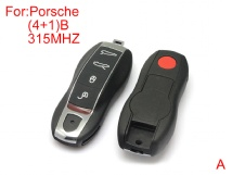 315MHZ Remote key 4+1buttons after market for Porsche Cayenne