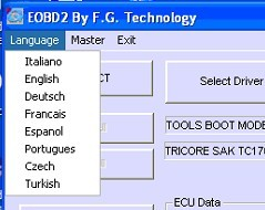 FGTech Galletto 2 Master EOBD2 V50 BDM-TriCore-OBD display 2
