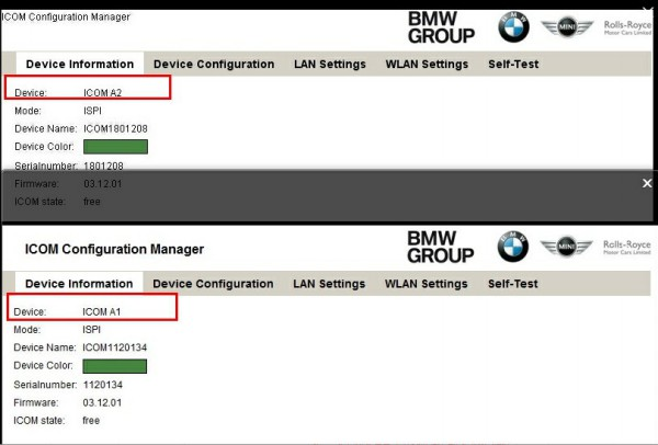 2014 New BMW ICOM A2+B+C Diagnostic and Programming Tool comparison