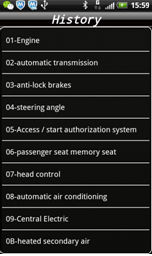 IOBD2 Diagnostic Tool Feature and Functions menu 8