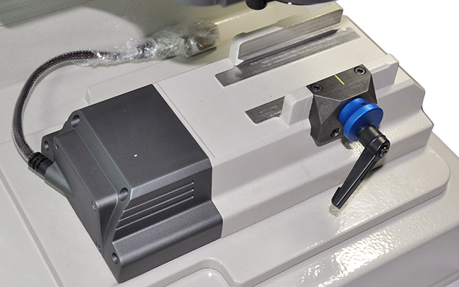 ikeycutter condor xc-007 master series key cutting machine display 10