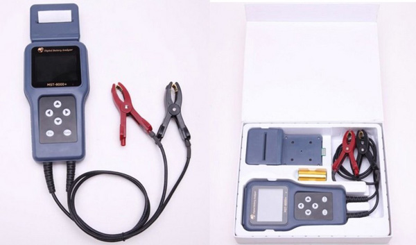 MST-8000+ Digital Battery Analyzer With Detachable Printer display 2