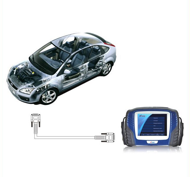 XTOOL PS2 GDS Gasoline Bluetooth Diagnostic Tool  1