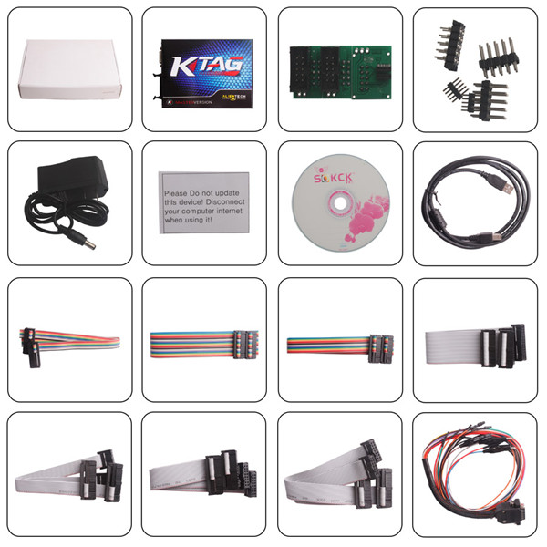V2.11 KTAG K-TAG ECU Programming Tool package list