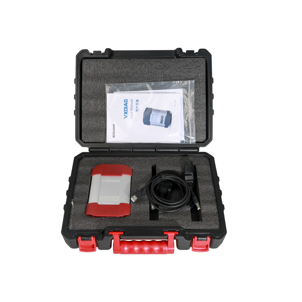 Original VXDIAG 4 in 1 Diagnostic Tool for TOYOTA Ford Mazda JLR (Update by  CD)