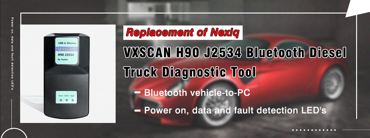 NEXIQ 125032 USB LINK Truck Diagnostic Interface with all