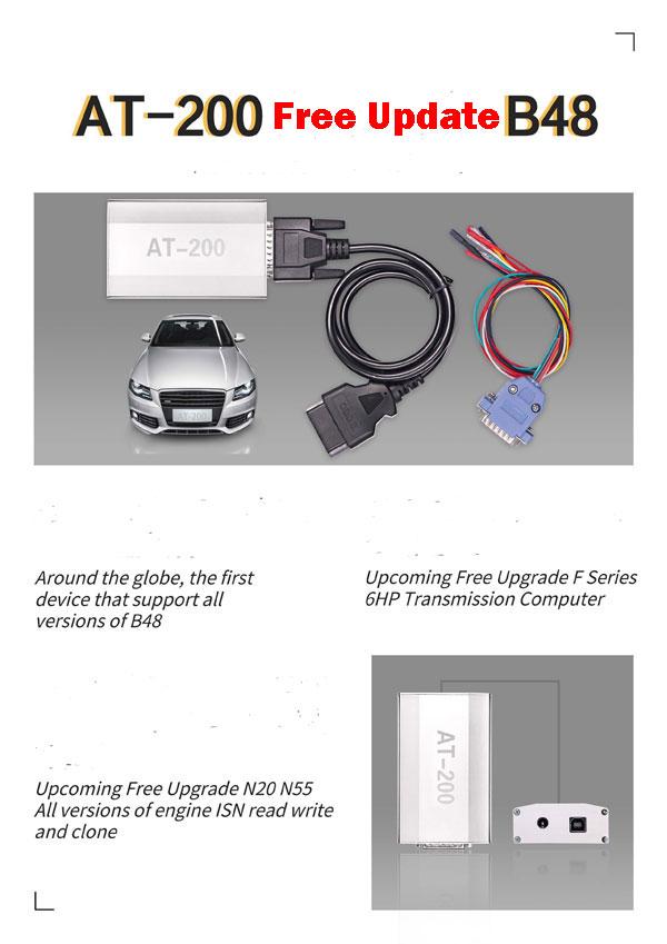 BMW AT-200 ECU Programmer & ISN OBD Reader Work with CGDI Prog BMW Car Key  Programmer