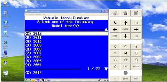 GDS software test in GM car After 2010 year