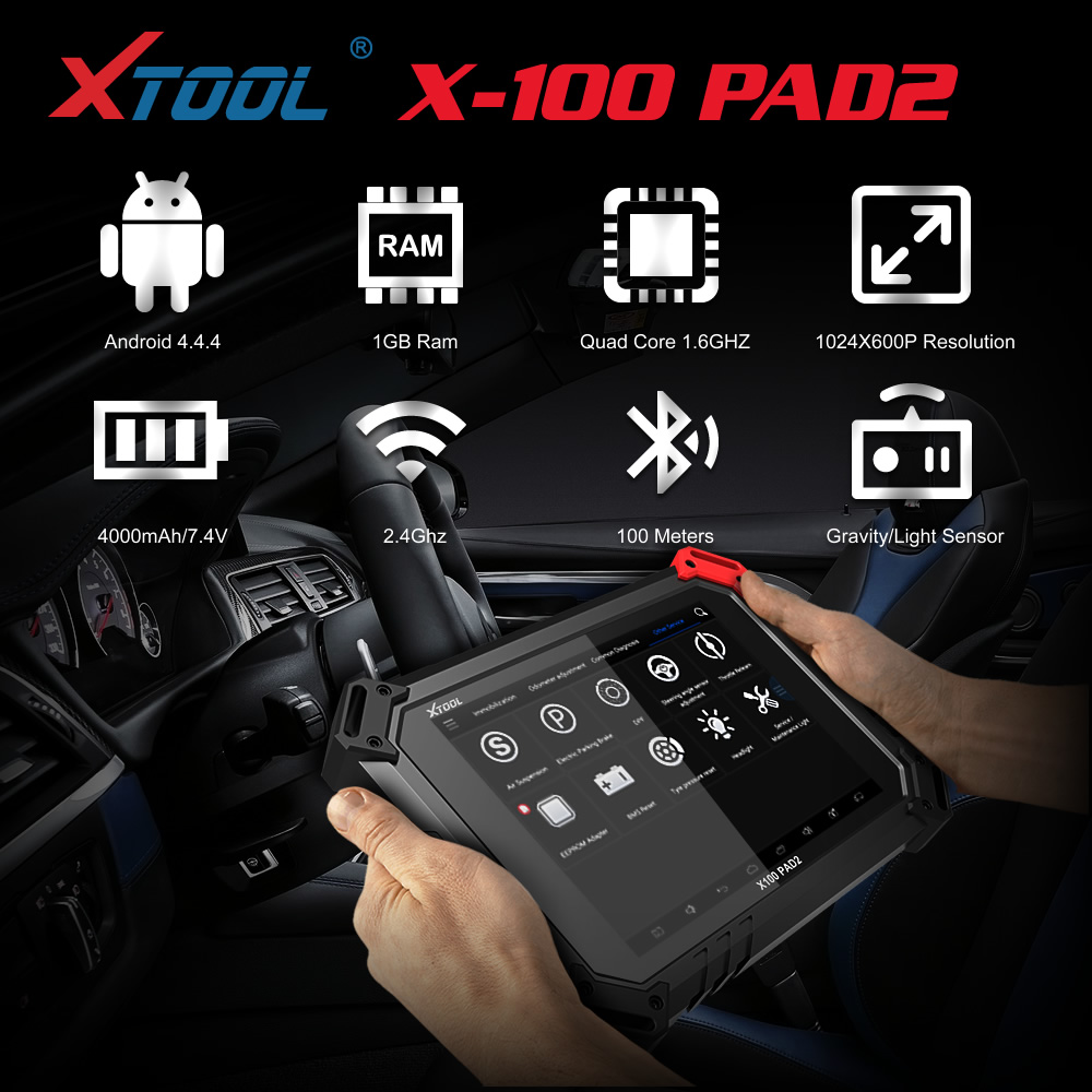 Xtool X100 Pad2 Specification