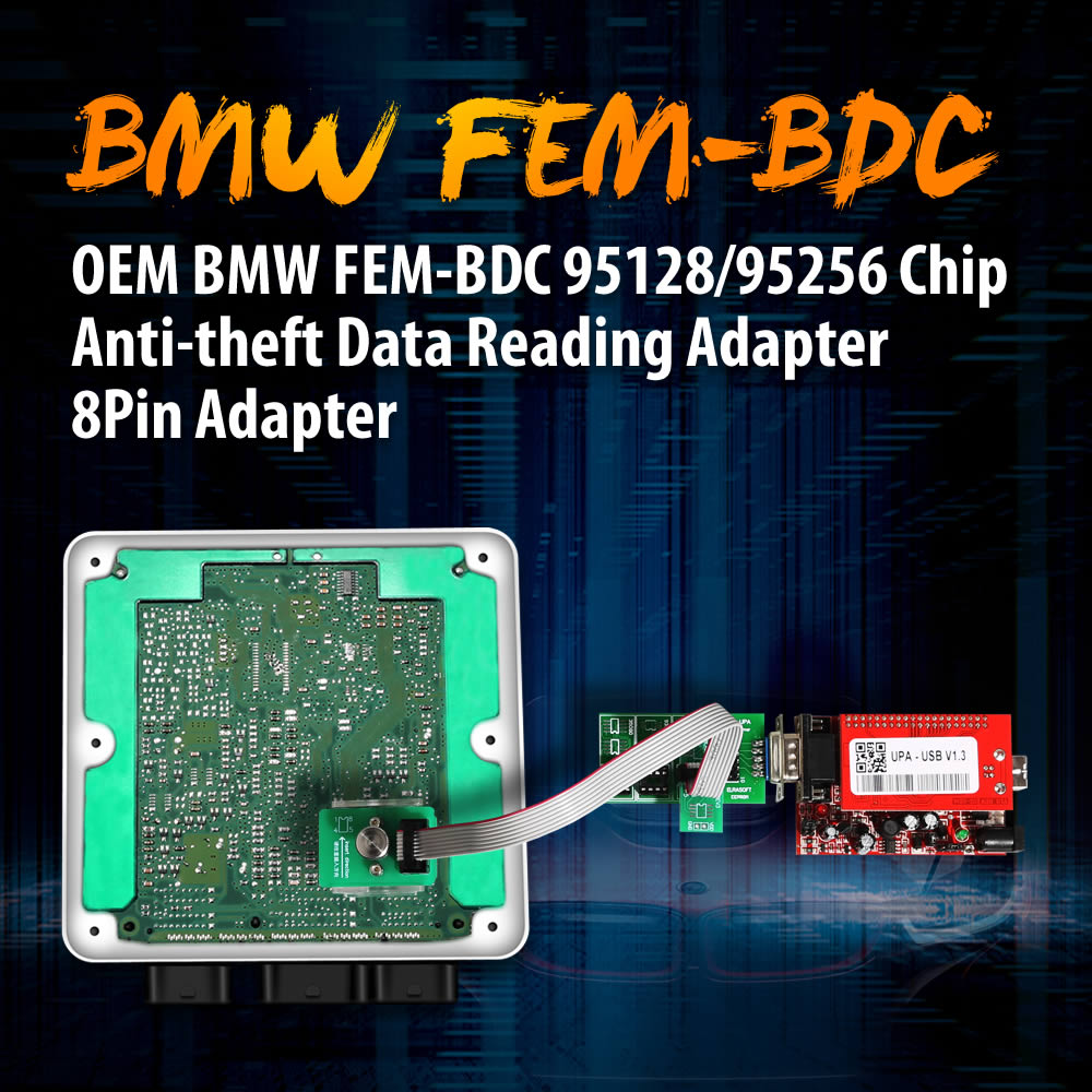 OEM BMW FEM-BDC Adapter Features