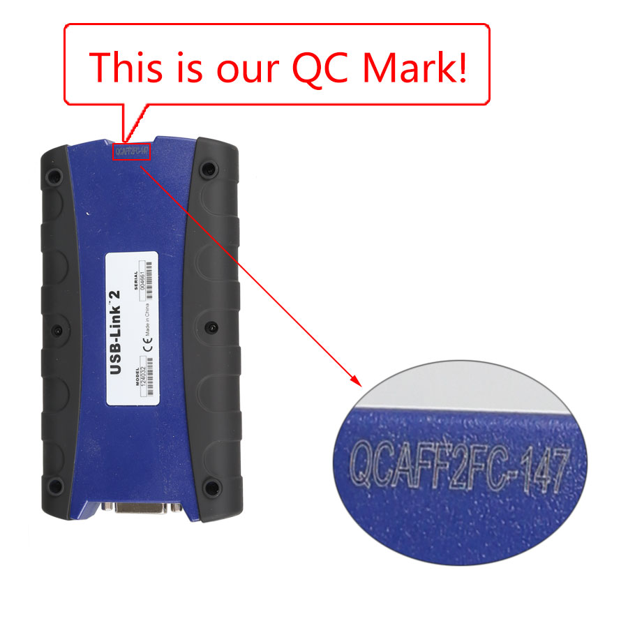 NEXIQ-2 QC number