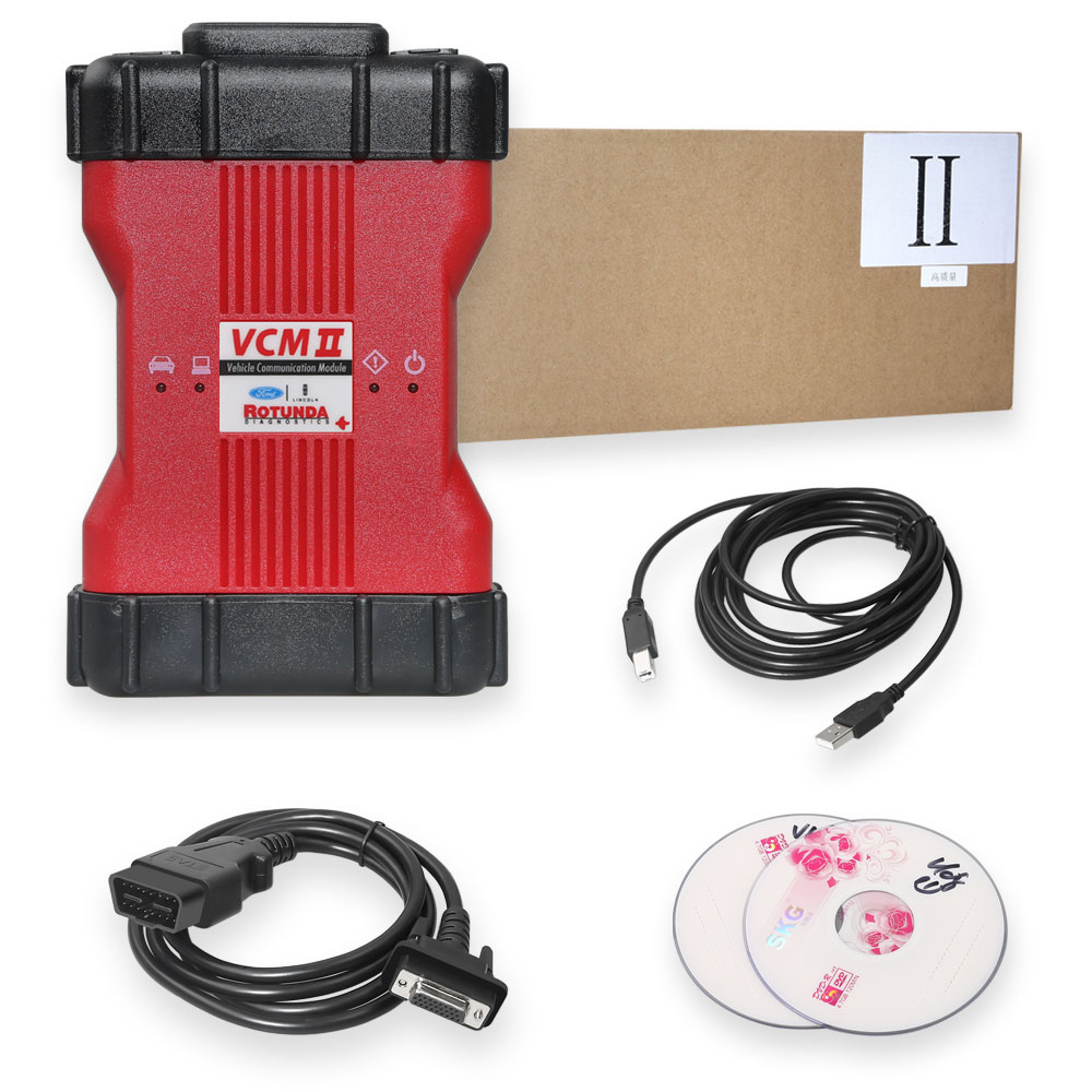 V106 Ford VCM II Diagnostic Tool package