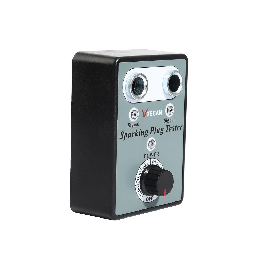 Tickas Car Spark Plug Tester,Car Spark Plug Tester with Adjustable Double Hole Detector Ignition Plug Analyzer