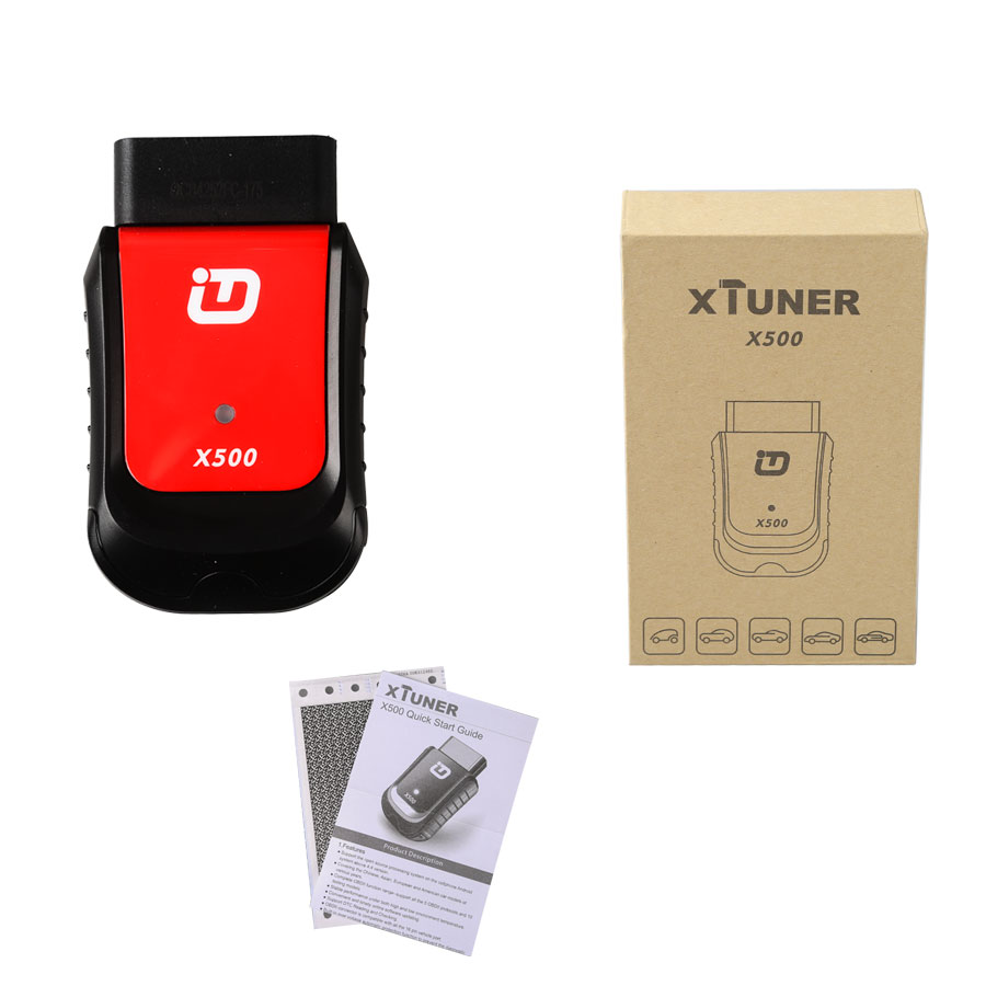 XTUNER X500+ package