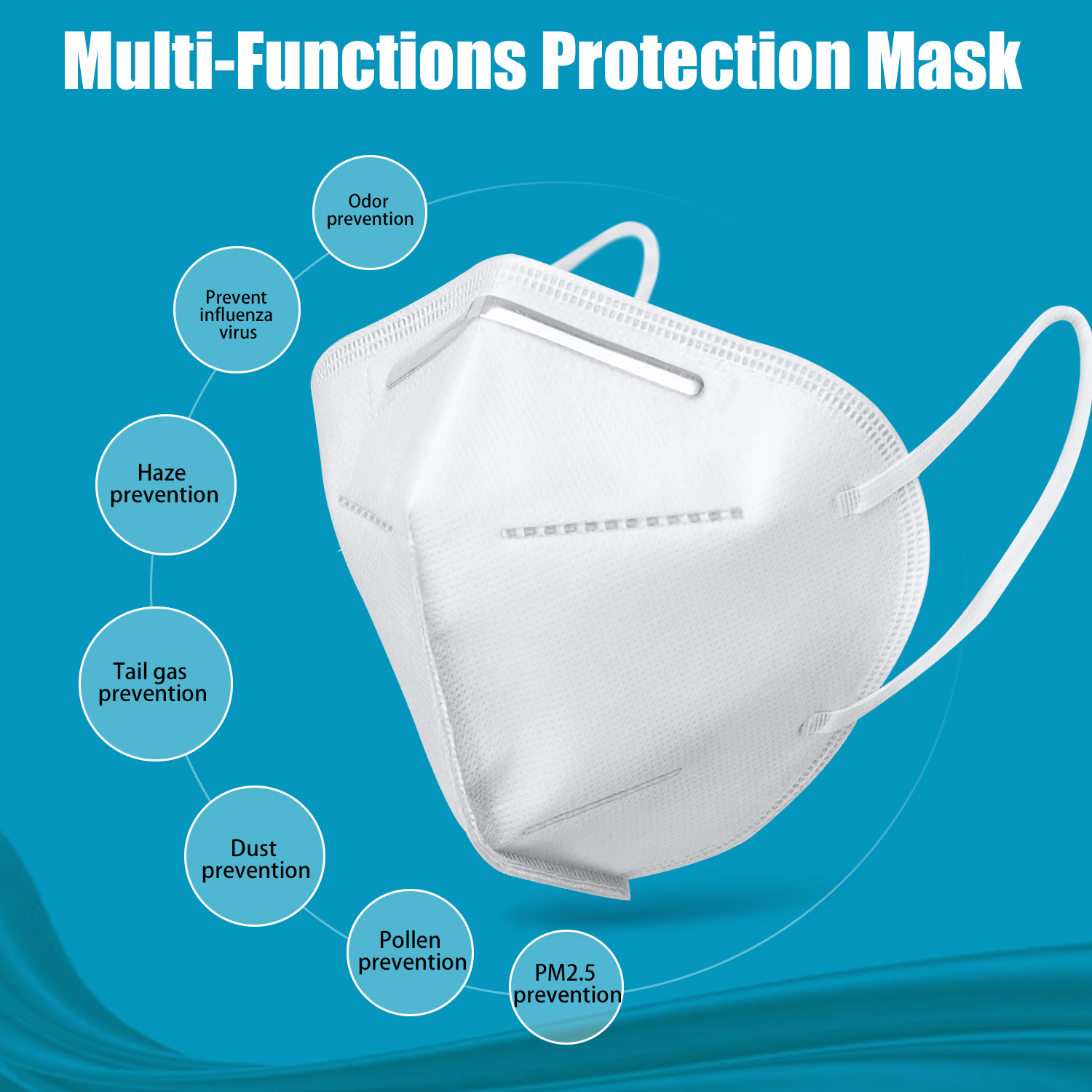 AOSHIDE KN95 Mask With Four-Layer