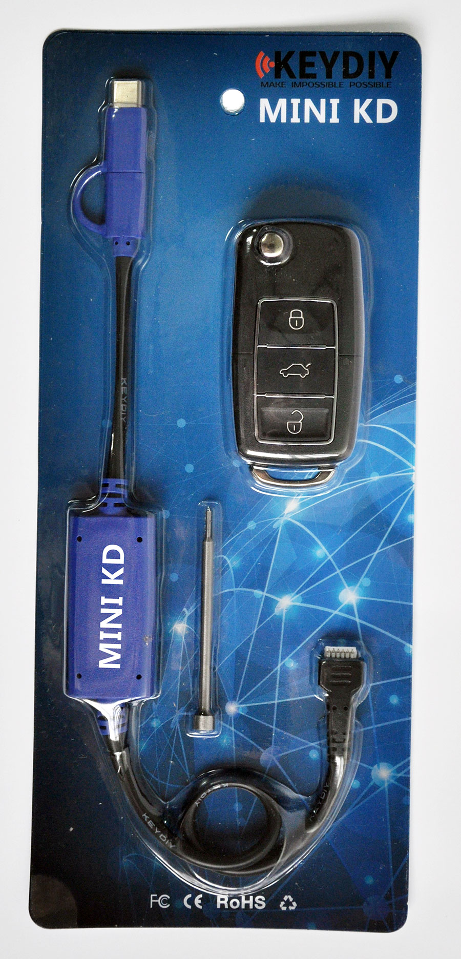 Keydiy Mini KD Mobile Key Remote Maker Package