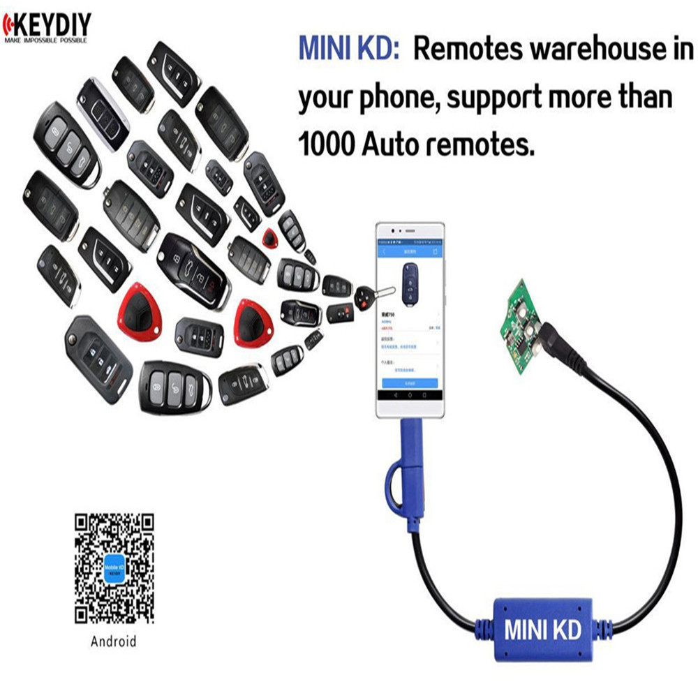 Mini KD Keydiy Key Remote Maker 3