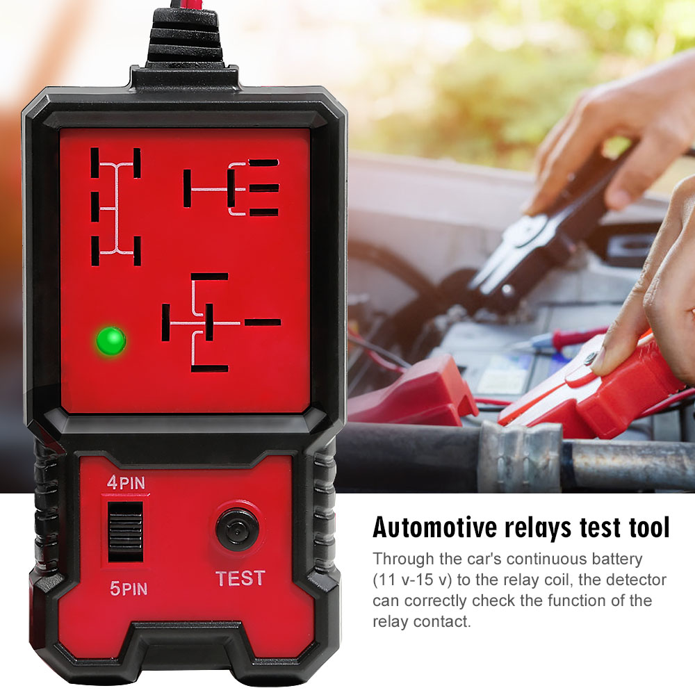 12V Electronic Automotive Relay Tester 6