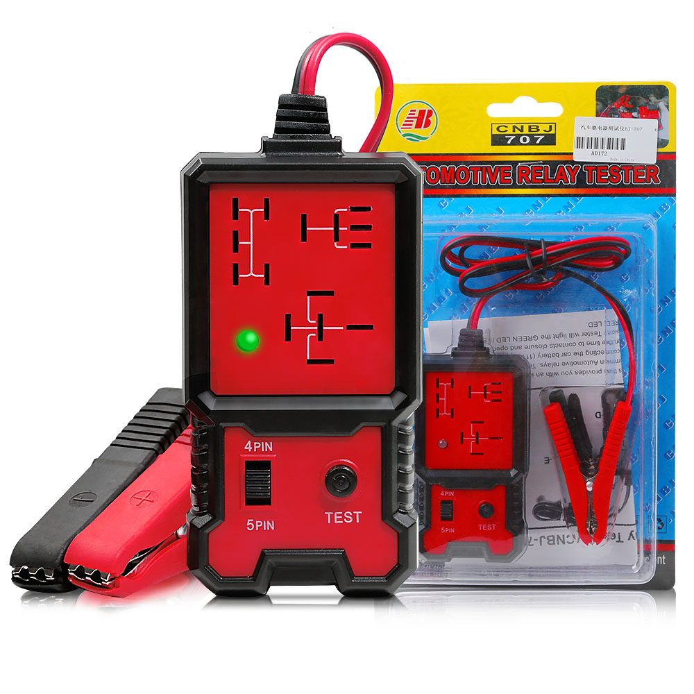 12V Electronic Automotive Relay Tester 5
