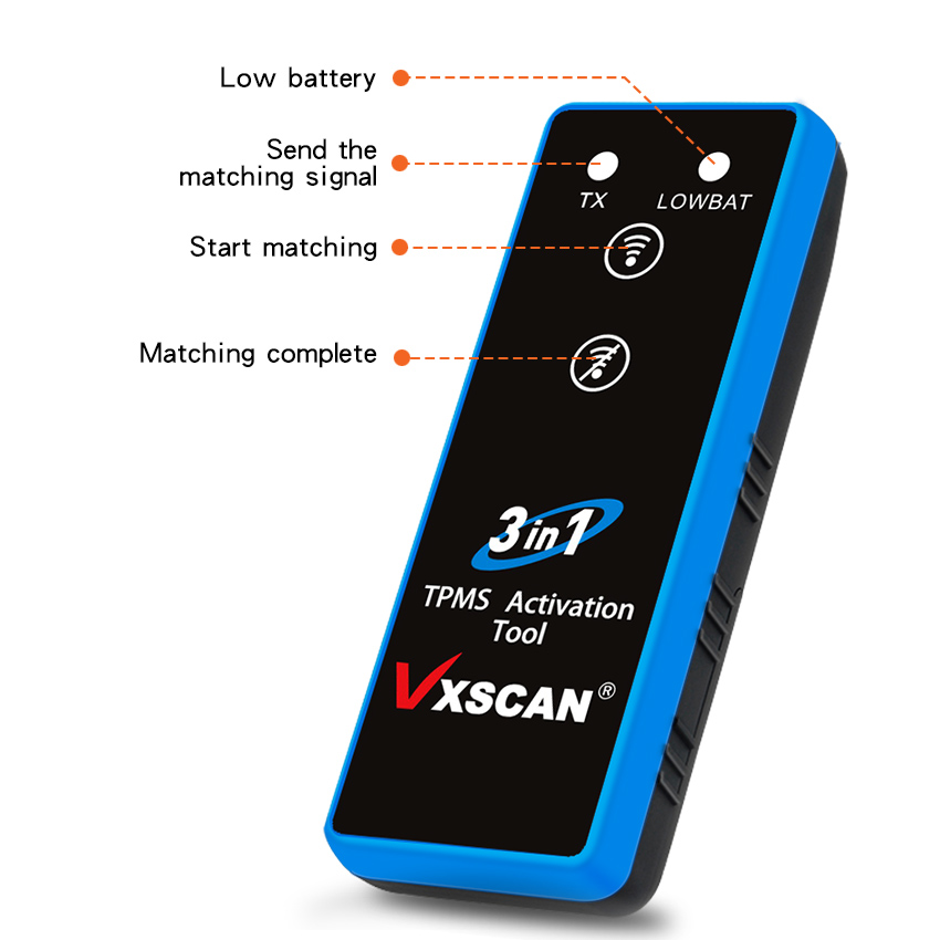 VXSCAN 3 in 1 TPMS Activation Tool  display 3