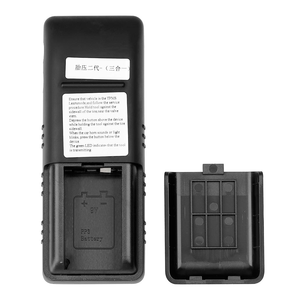 VXSCAN 3 in 1 TPMS Activation Tool  display 1 back side