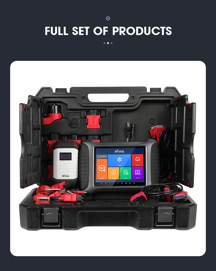 XTOOL A80 Pro package