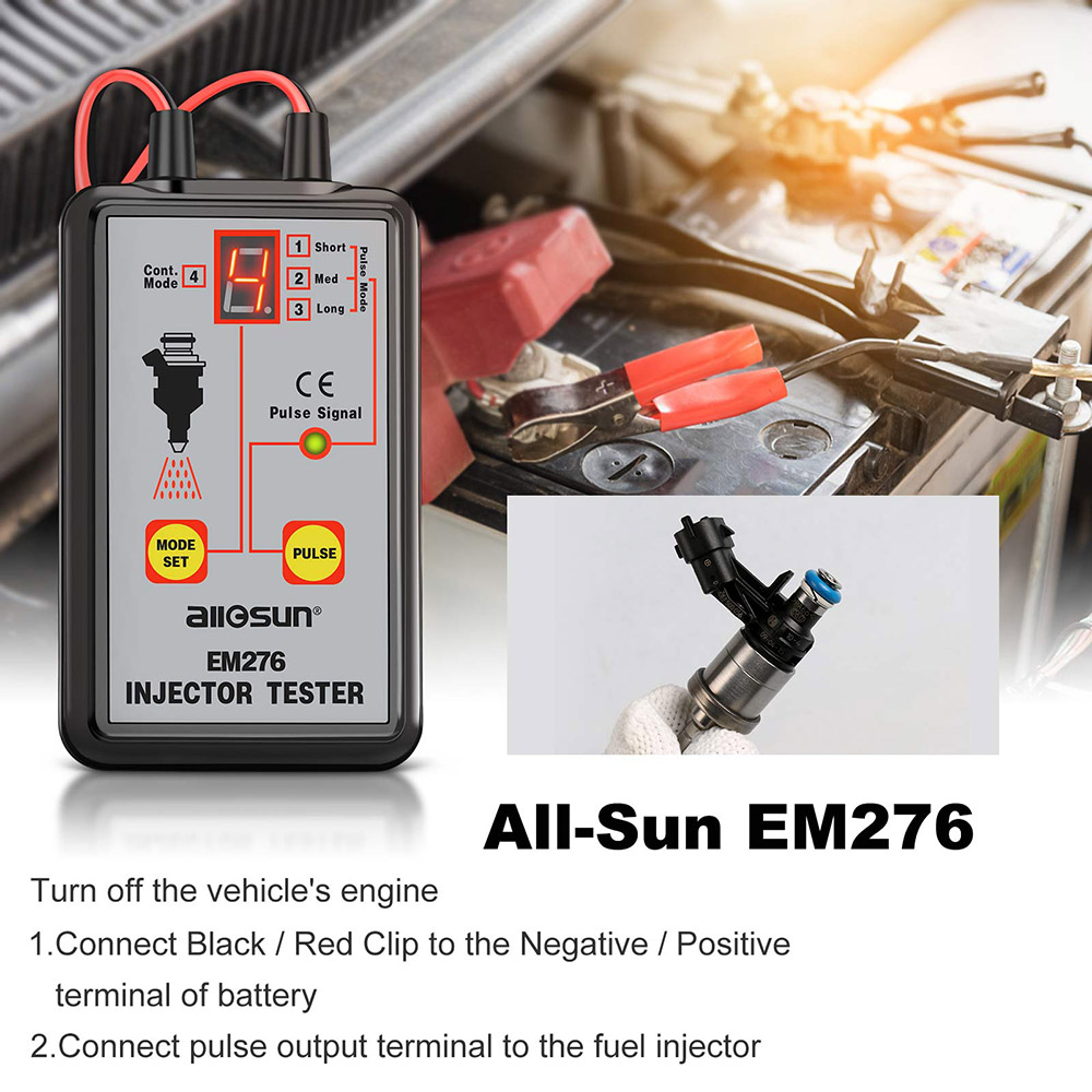 How To Use All-Sun EM276 Injector Tester