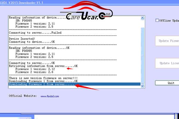 FVDI New version Update User Guide