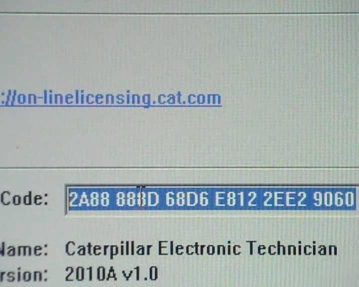 How to Activate CAT Caterpillar ET Diagnostic Adapter