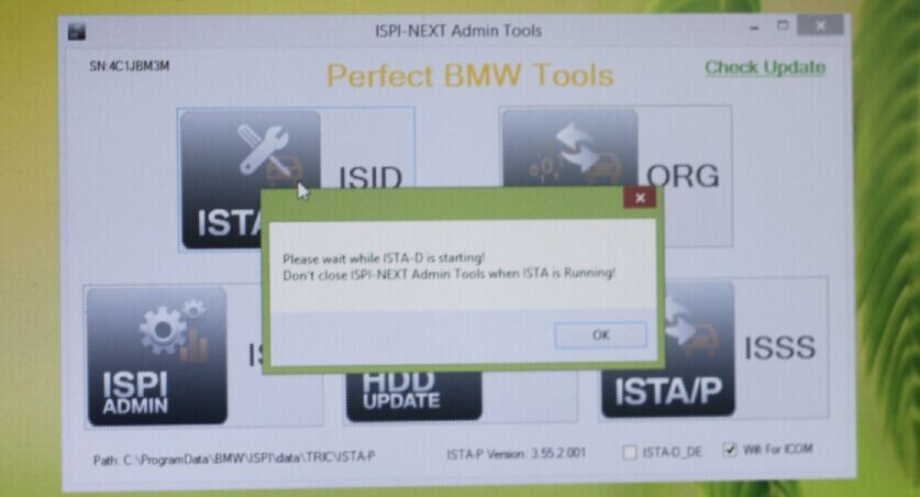 Installation Tips of ICOM  for BMW  USB wifi